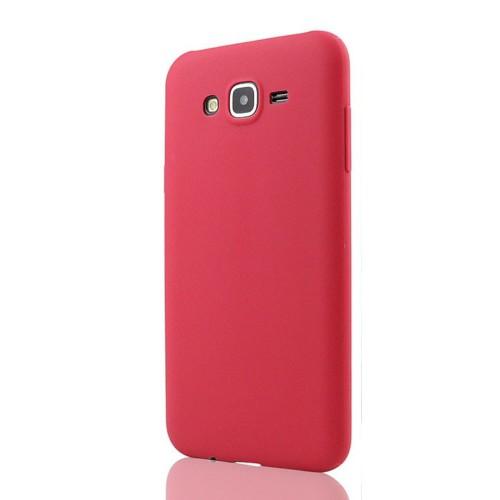 Tlfcom Samsung Galaxy J2 Silikon Kılıf Kırmızı