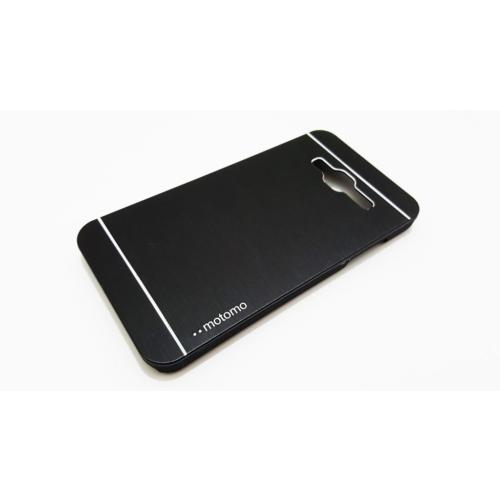 Motomo Samsung Galaxy J3 Motomo Siyah Metal Kılıf