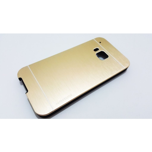 Motomo Htc One M9 Motomo Gold Metal Kılıf
