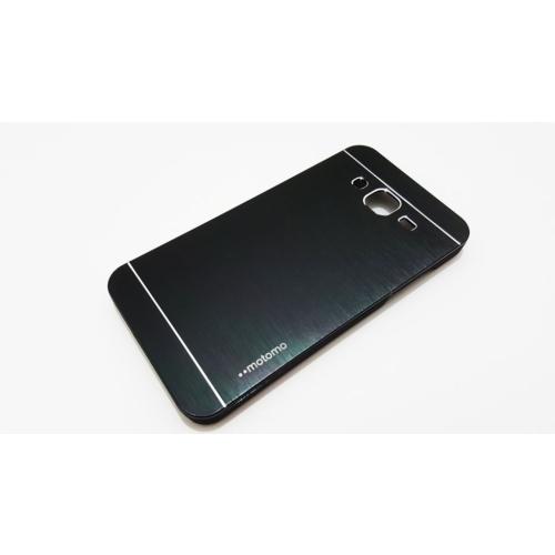 Motomo Samsung Galaxy J5 Motomo Siyah Metal Kılıf
