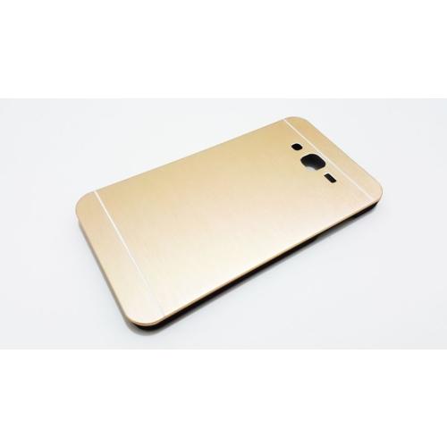 Motomo Samsung Galaxy J7 Motomo Gold Metal Kılıf