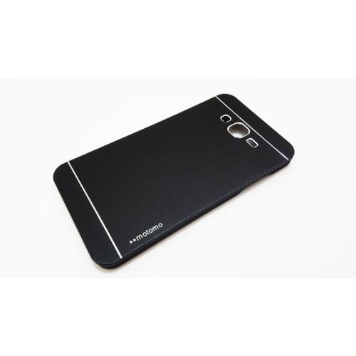 Motomo Samsung Galaxy J7 Motomo Siyah Metal Kılıf