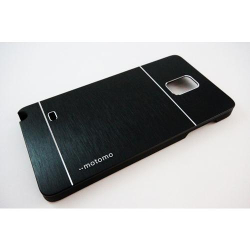Motomo Samsung Galaxy Note 4 Motomo Siyah Kılıf