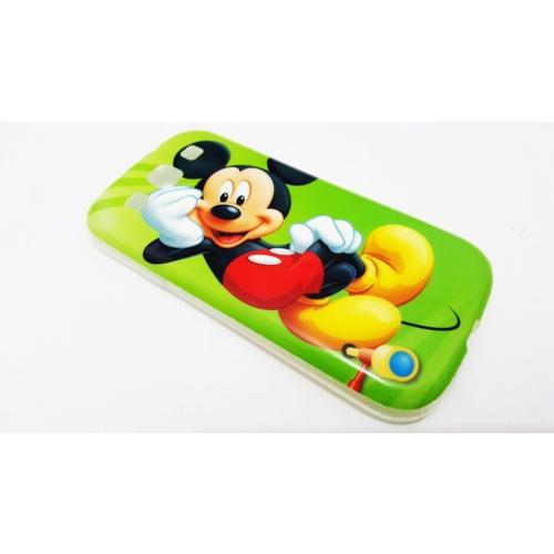 Mobillife Samsung Galaxy S3 Mickey Silikon Rubber Kılıf