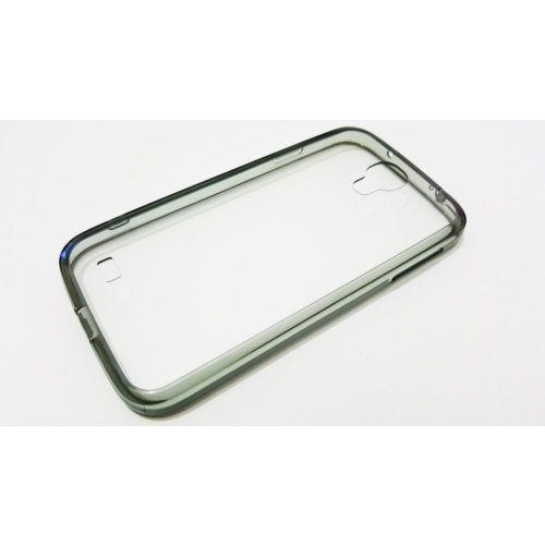 Mobillife Samsung Galaxy S4 Lims Gri Kenar Kılıf