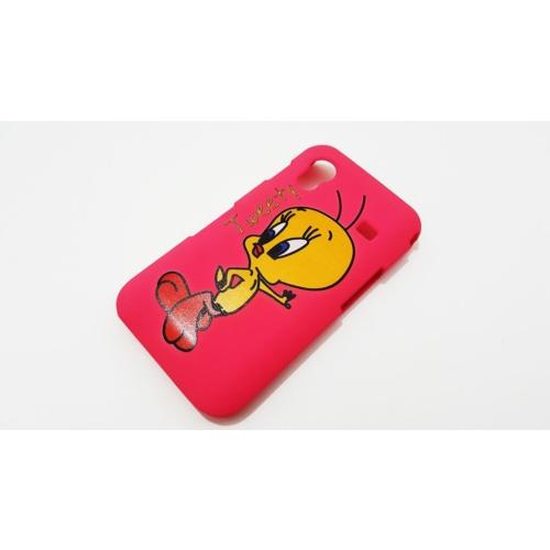 Mobillife Samsung Galaxy Ace Pembe Tweety Rubber Kılıf