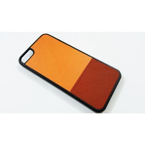 Jzss Apple İphone 5/5S Jzss Turuncu Rubber Kılıf