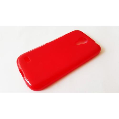 Mobillife Samsung Galaxy S4 Mini Kırmızı Silikon Kılıf