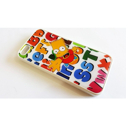 Mobillife Apple İphone 5/5S Bart Simpson Silikon Rubber Kılıf