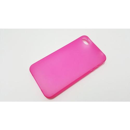 Mobillife Apple İphone 4/4S Pembe Silikon Kılıf