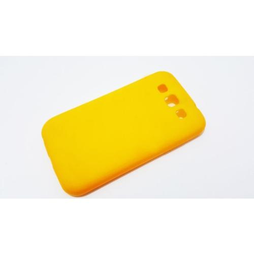 Mobillife Samsung Galaxy S3 Sarı Silikon Rubber Kılıf