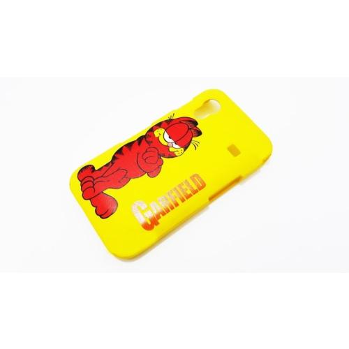 Mobillife Samsung Galaxy Ace S5830 Garfield Sarı Rubber Kılıf