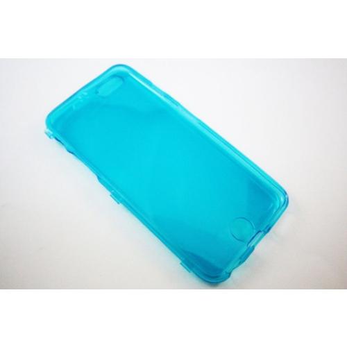 Mobillife Apple İphone 6 / 6 S Ultra İnce Yumuşak Şeffaf Mavi Silikon Kapaklı Kılıf
