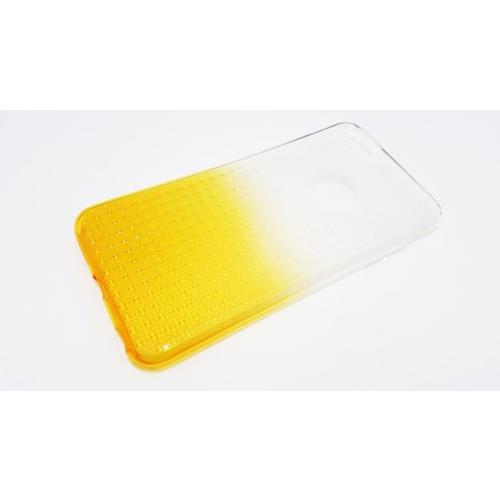 Mobillife Apple İphone 6Plus-6Plus S Buzlu Sarı Yumuşak Silikon Kılıf