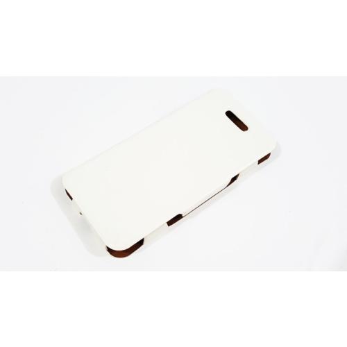 Mobillife Apple İphone 5/5S Beyaz Deri Kapaklı Kılıf