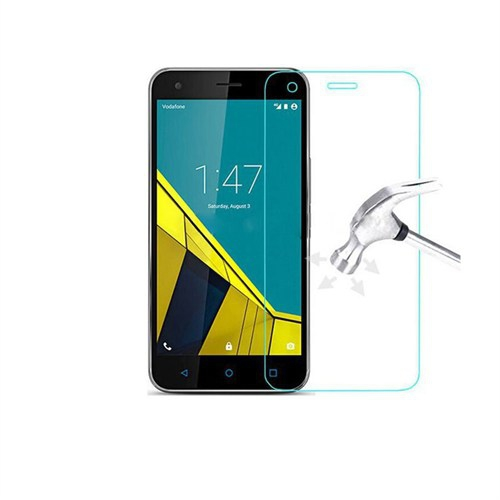 Inovaxis Vodafone Smart 6 Kırılmaya Dayanıklı Temperli Cam Ekran Koruyucu