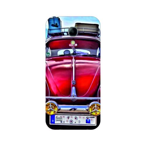 Bordo Samsung Galaxy S4 Mini Kapak Kılıf Baskılı Silikon