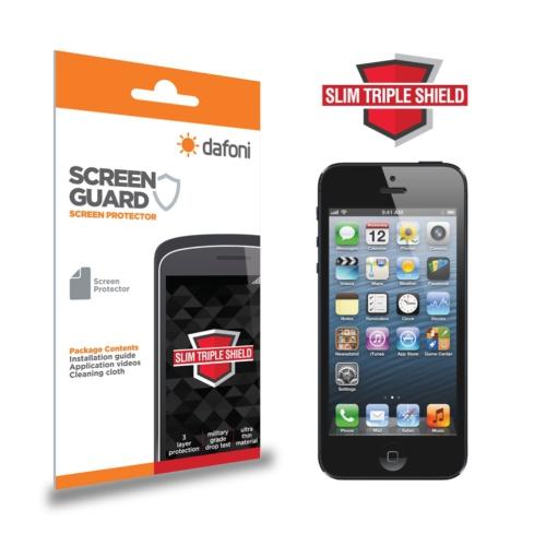 Dafoni iPhone SE / 5 / 5S Slim Triple Shield Ekran Koruyucu