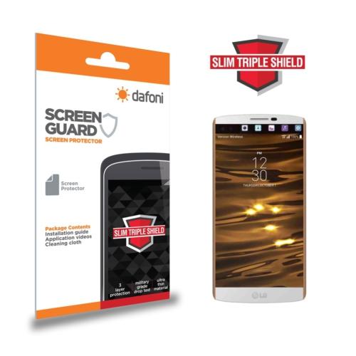 Dafoni LG V10 Slim Triple Shield Ekran Koruyucu