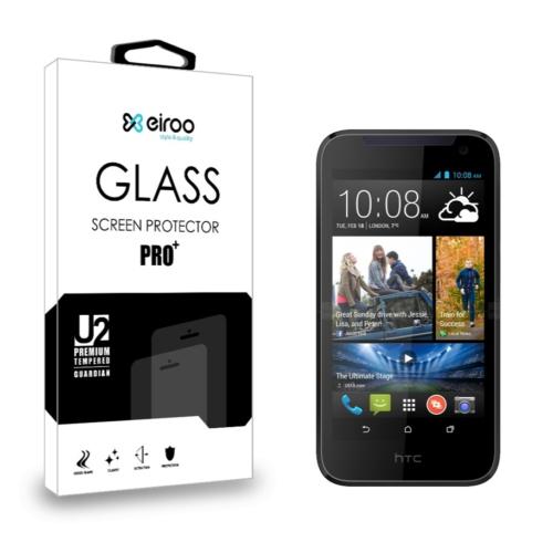 Eiroo HTC Desire 310 Tempered Glass Cam Ekran Koruyucu