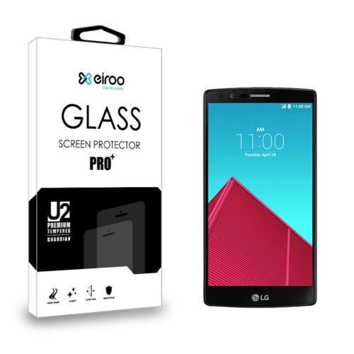 Eiroo LG G4 Tempered Glass Cam Ekran Koruyucu