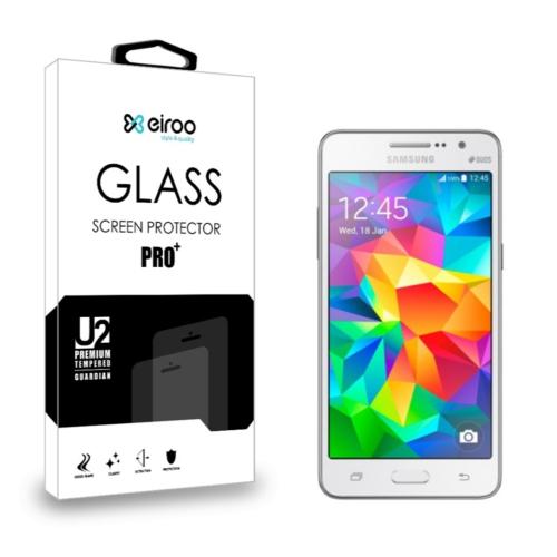 Eiroo Samsung Galaxy Grand Prime Tempered Glass Cam Ekran Koruyucu