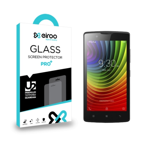 Eiroo Lenovo A2010 Tempered Glass Cam Ekran Koruyucu