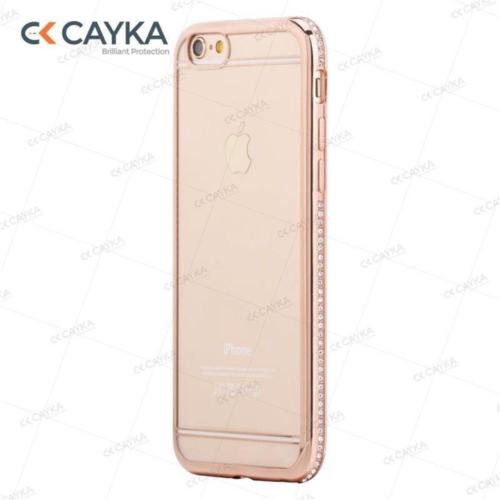 Cayka Iphone 6S Taşlı Rose Kılıf Cs-Ttpu-R-App-6S