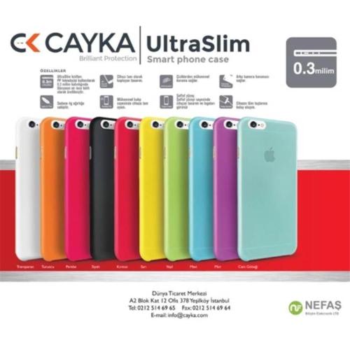 Cayka Ultra Slım Iphone 6/6S Beyaz Kılıf Cs-Us-App-6-Wh