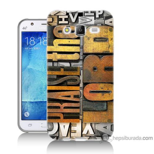 Bordo Samsung Galaxy J2 The Lord Baskılı Silikon Kapak Kılıf