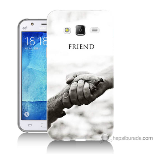 Bordo Samsung Galaxy J3 Hayat Yolu Baskılı Silikon Kapak Kılıf