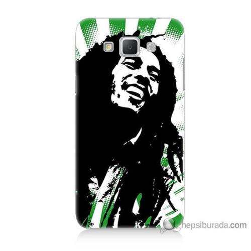 Bordo Samsung Galaxy Grand Max Bob Marley Soft Baskılı Silikon Kapak Kılıf