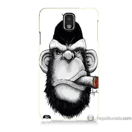 Bordo Samsung Galaxy Note 3 By Dudak Baskılı Silikon Kapak Kılıf