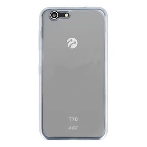 KılıfShop Turkcell T70 Kılıf Lazer Kesimli Silikon