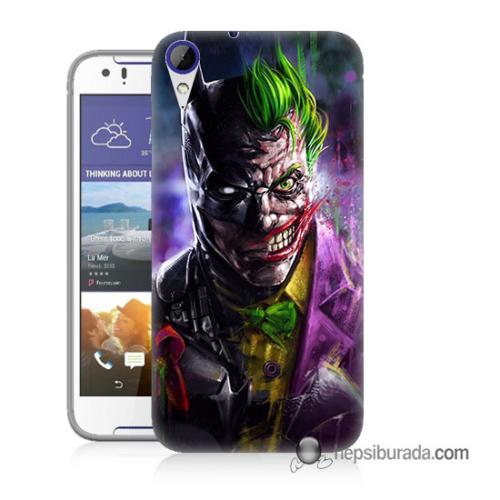 Teknomeg Htc Desire 830 Kılıf Kapak Batman Vs Joker Baskılı Silikon