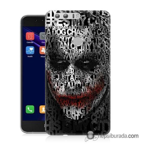 Teknomeg Huawei Honor 8 Kapak Kılıf Joker Baskılı Silikon
