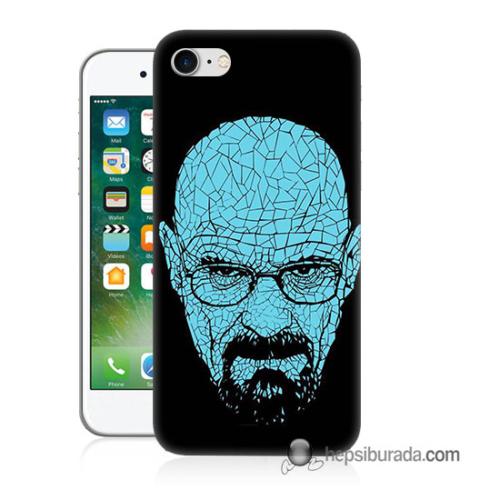 Teknomeg iPhone 7 Kapak Kılıf Heisenberg Baskılı Silikon
