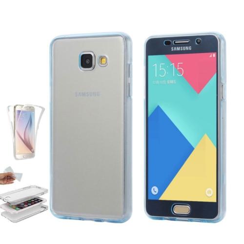 Teleplus Samsung Galaxy A5 2016 Ön & Arka 360 Full Korumalı Silikon Kılıf