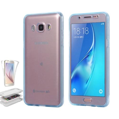 Teleplus Samsung Galaxy J7 2016 Ön & Arka 360 Full Korumalı Silikon Kılıf