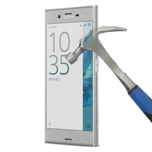 Teleplus Sony Xperia Xz Plastik Ve Cam Karışımı Kırılmaz Ekran Koruyucu
