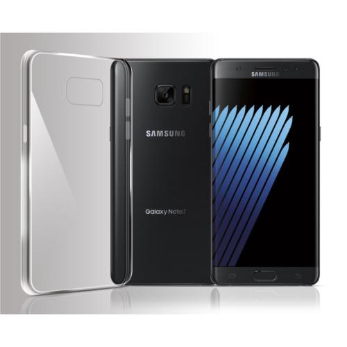 Cayka Samsung Galaxy Note 7 Şeffaf Tpu Kılıf-Cayka