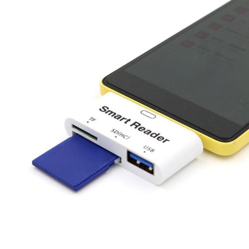 KılıfShop USB Type C OTG Kart Okuyucu