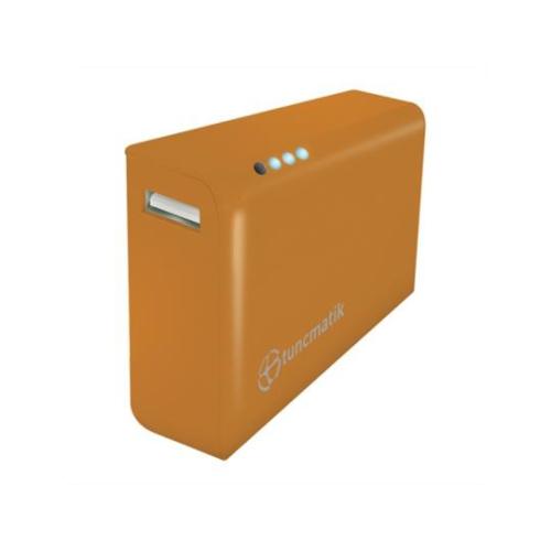 Tunçmatik Powerbank Tuncmatık Tsk6123 5000Mah (Turuncu) Lı-Ion Akü+Lıg