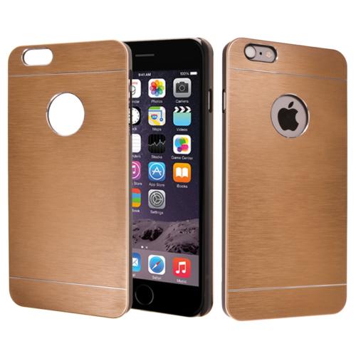 CaseUp Apple iPhone 6 Plus Kılıf Metal Korumalı Kırılmaz Cam