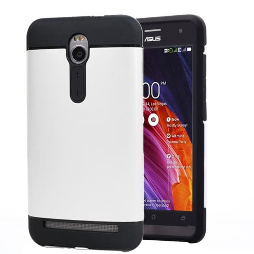 CaseUp Asus Zenfone 2 5.5'' Kılıf Slim Fit Dual Layer Ar Kırılmaz Cam
