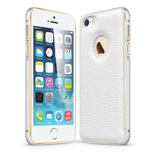 CaseUp Derili Metal Delüx iPhone 5S Kılıf Kırılmaz Cam