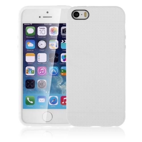 CaseUp Dot Style Silikon iPhone 5S kılıf Kırılmaz Cam