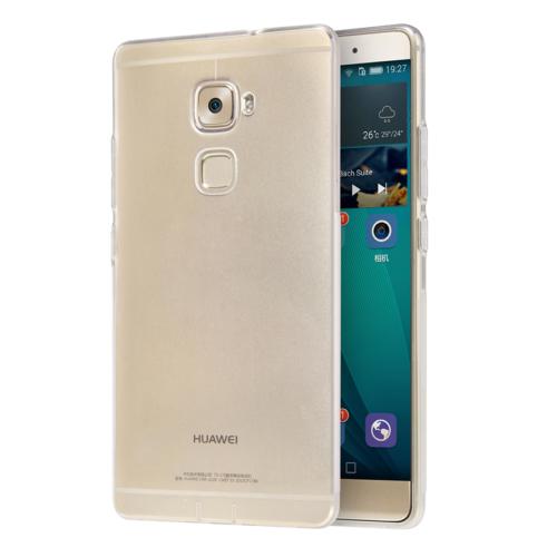 CaseUp Huawei Mate S Kılıf Transparent Soft Kırılmaz Cam