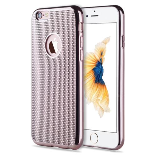 CaseUp iPhone 6 Kılıf Electroplate Soft Kırılmaz Cam