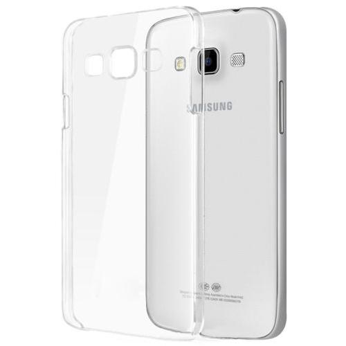 CaseUp kristal Şeffaf Samsung Galaxy E5 Kılıf Kırılmaz Cam